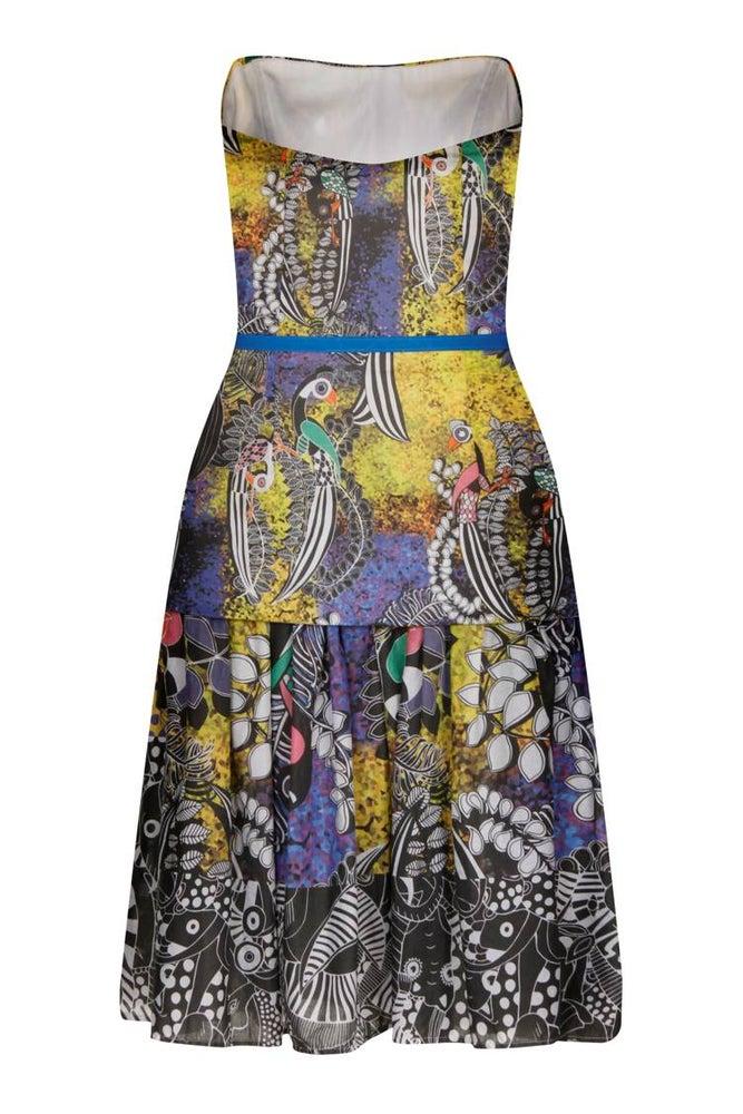 Image of The 'KASUKU' Strapless Dress