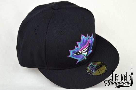 Image of TORONTO BLUE JAYS NEW ERA HAT (NIKE AIR KOBE PENNY 5/INVISIBILITY CLOAK)