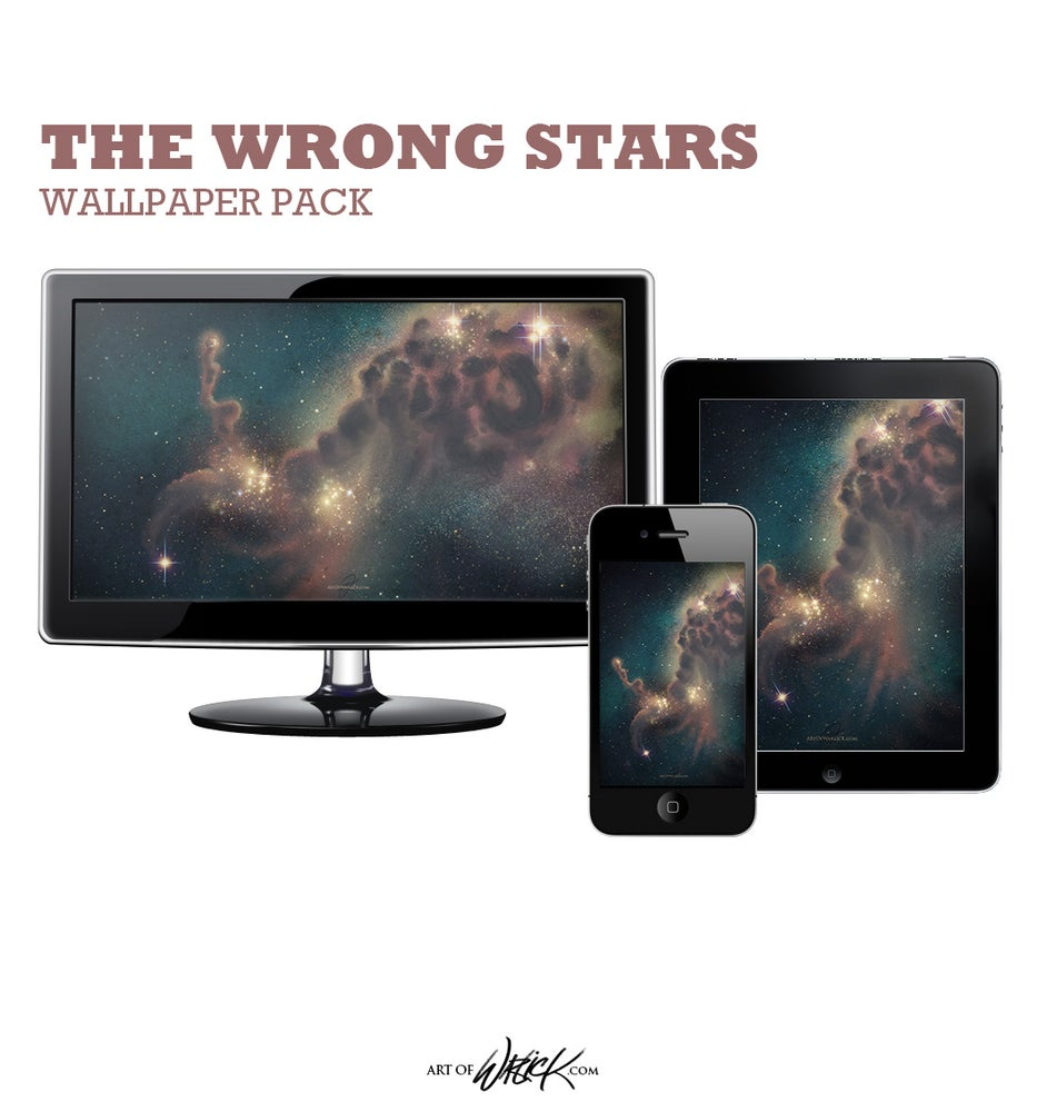 Image of The Wrong Stars Wallpaper Set