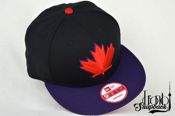 Image of TORONTO BLUEJAYS SPRING TRAINING BLK/PUR/RED SNAPBACK CAP