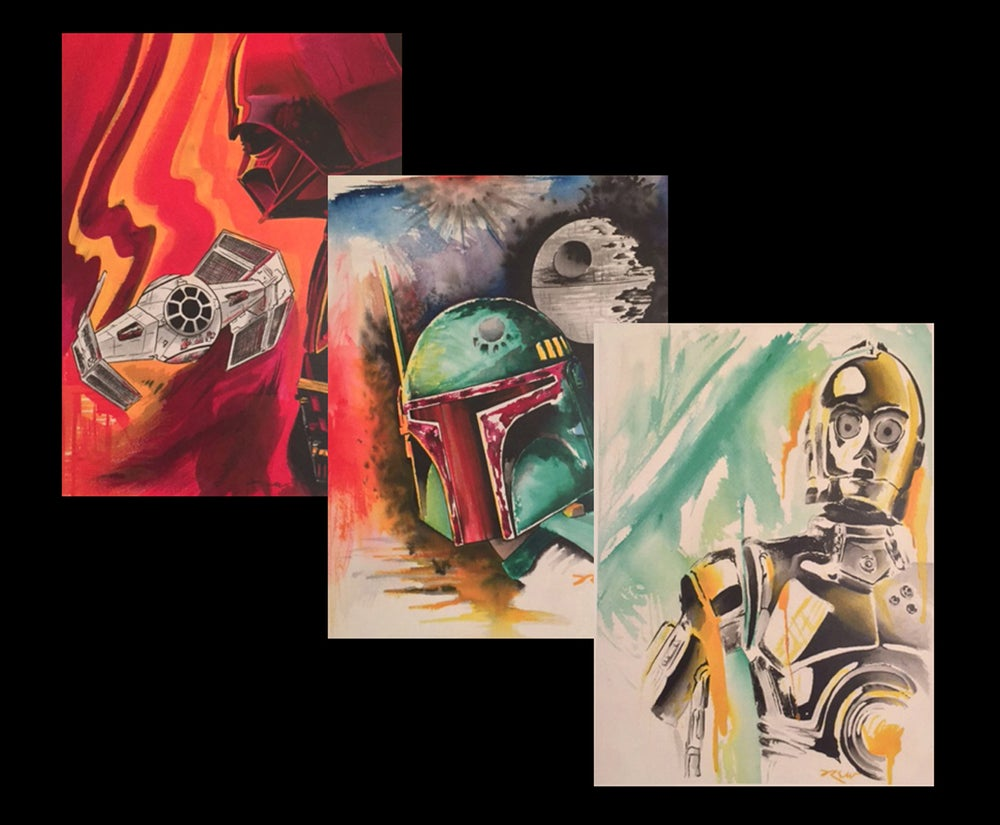 Image of Star Wars Watercolor Series