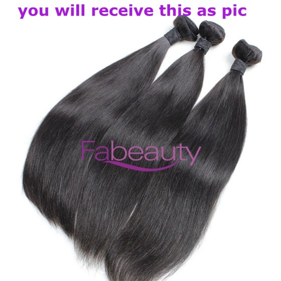 "Image of Best virgin Brazilian Straight hair 12""-30"""