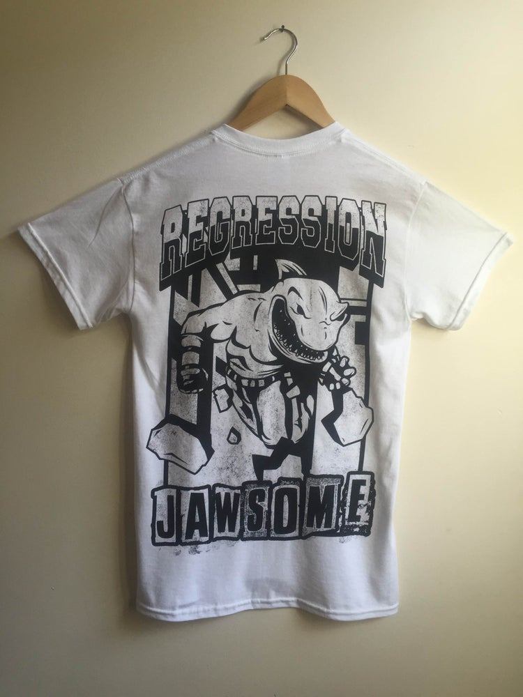 Image of JAWSOME T Shirt in White