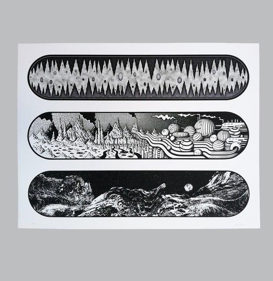 Image of EÉLOÜY or not Triptych