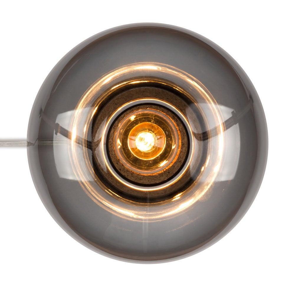 Image of Picia table lamp smoked glass