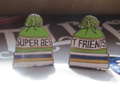 Image of Super Best Friends pin set