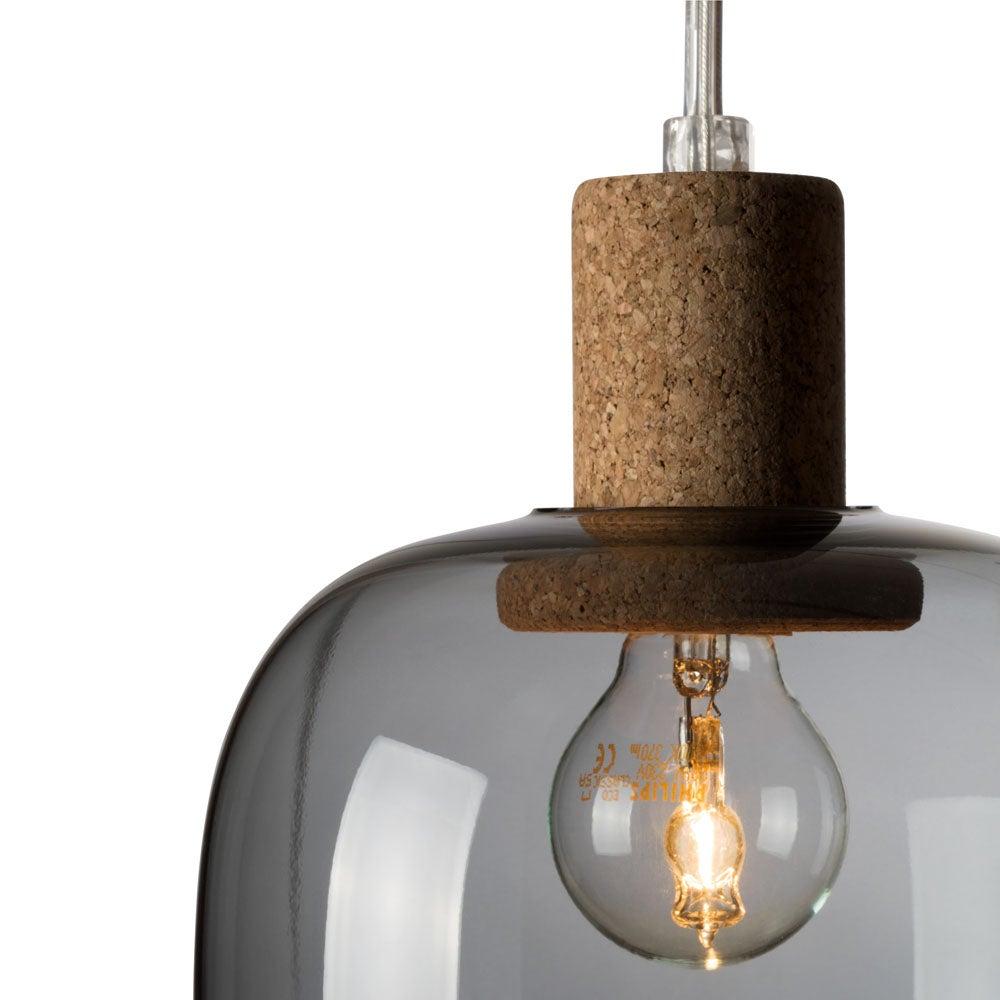 Image of Picia suspension smoked glass