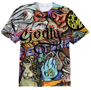 Image of Godly Features Full Coverage Album T-Shirt