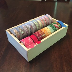 Image of Washi tape/Ribbon combo box