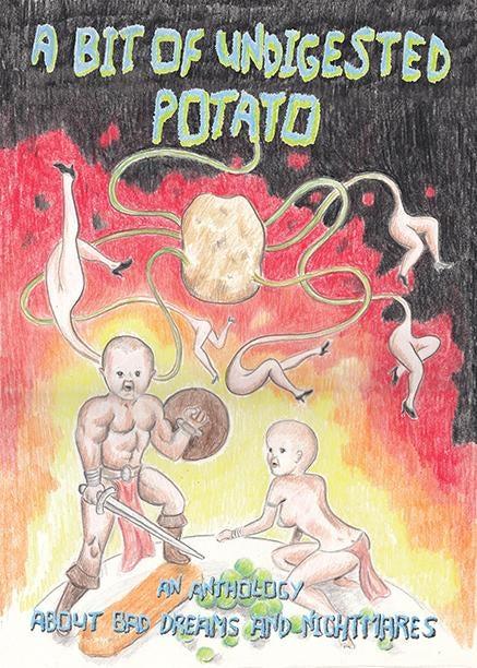 Image of A BIT OF UNDIGESTED POTATO