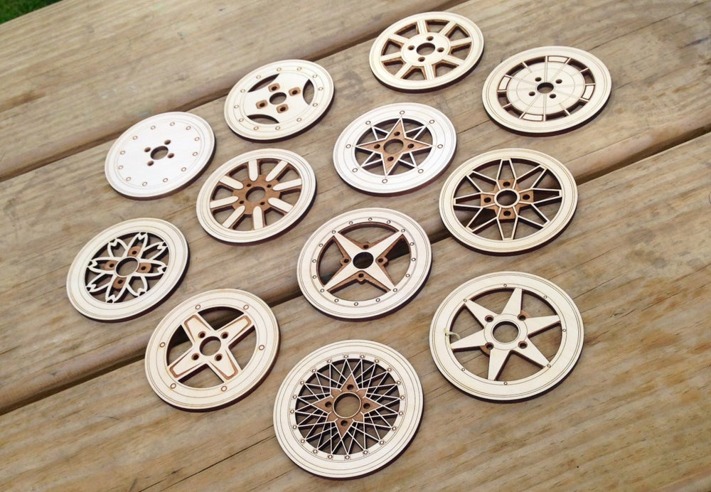 Image of -WHEEL COASTERS- Mix and Match Set