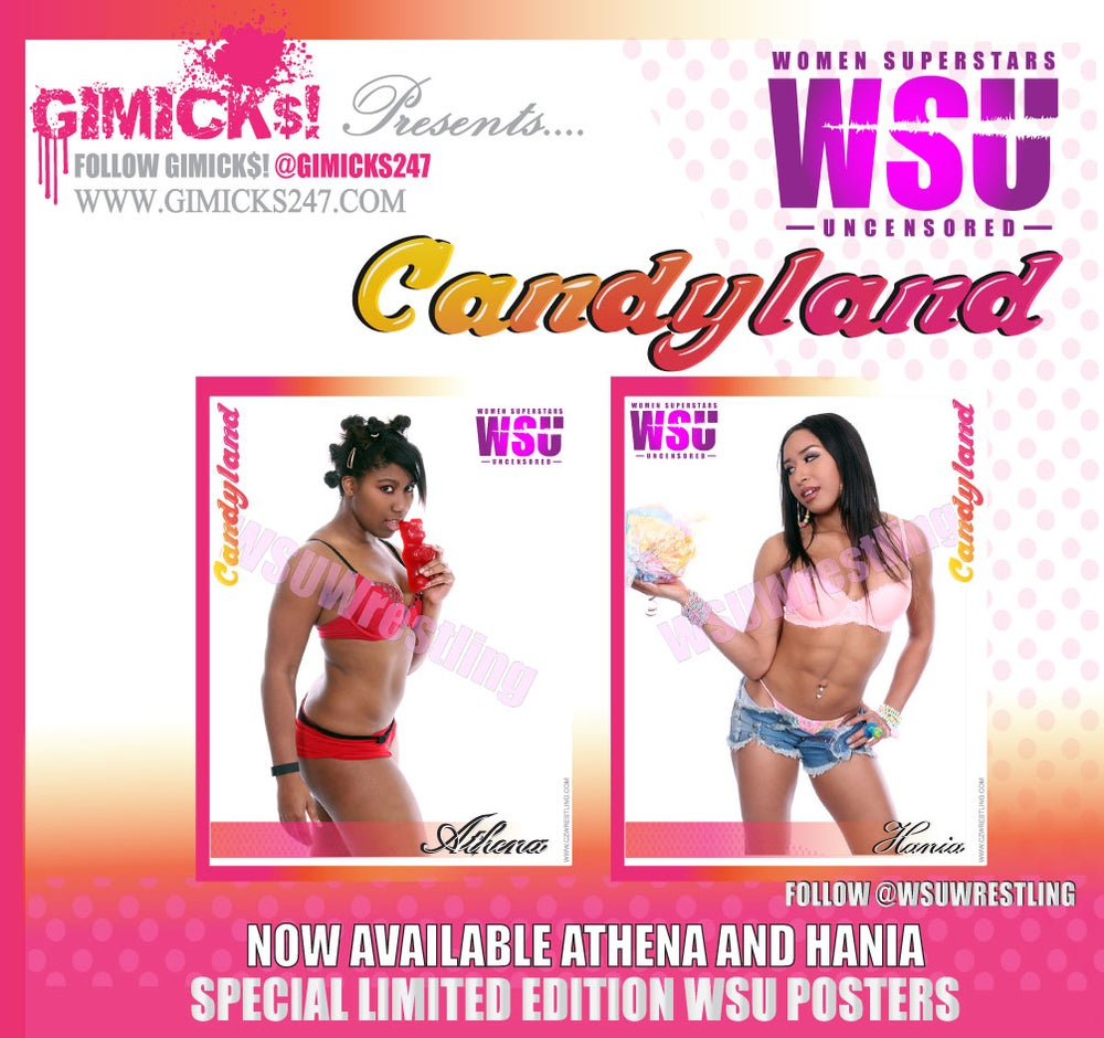 "Image of Limited Special Edition ""CANDYLAND"" ""POSTERS"" Volume #4"