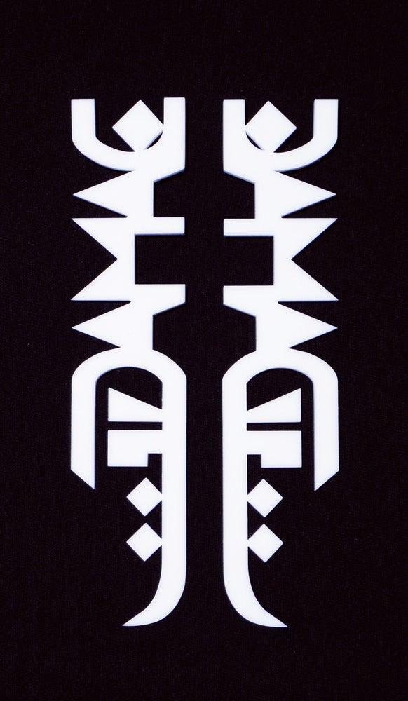 Image of DVMVGE Logo Earrings