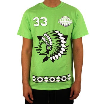 Image of Big Paper Tee (Lime)
