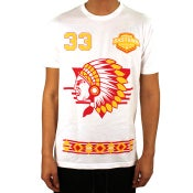 Image of Big Paper Tee (White/Yellow/Red)