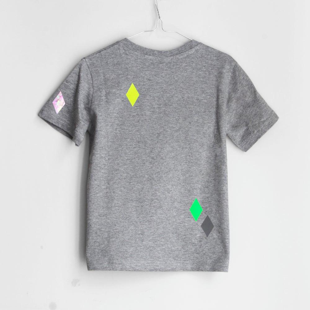 Image of T-Shirt Diamonds grey