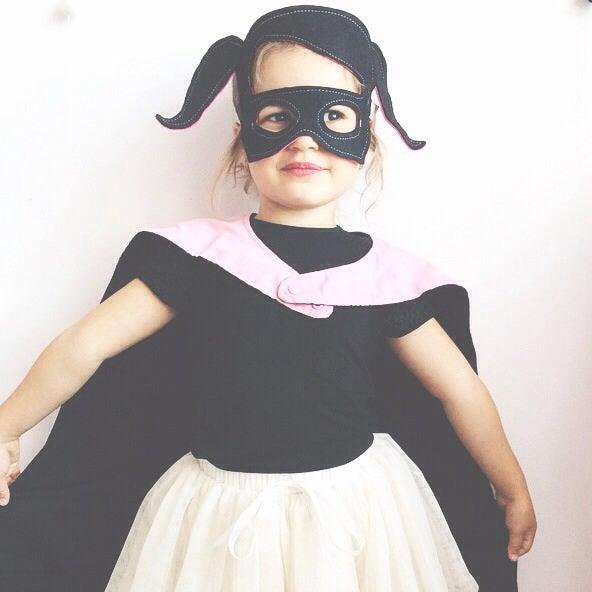 Image of Felt Batgirl Mask