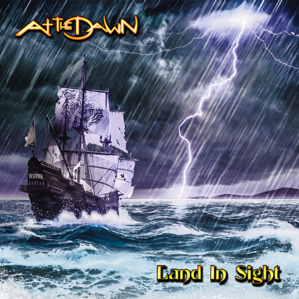 Image of AT THE DAWN - Land In Sight - DIGI CD