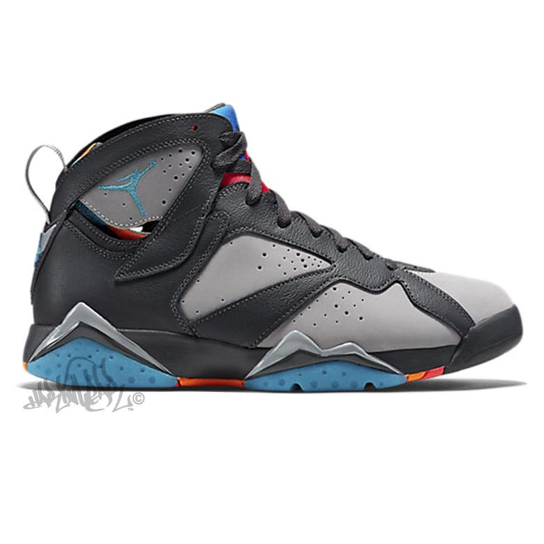Image of AIR JORDAN 7 - BARCELONA DAYS - 304775 016