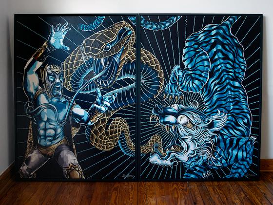 Image of 'Premonition Of The Striped Jaguar'
