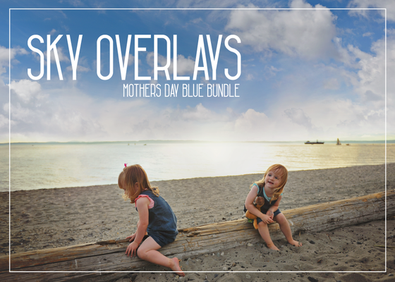 Image of SKY OVERLAYS - NEW BLUES
