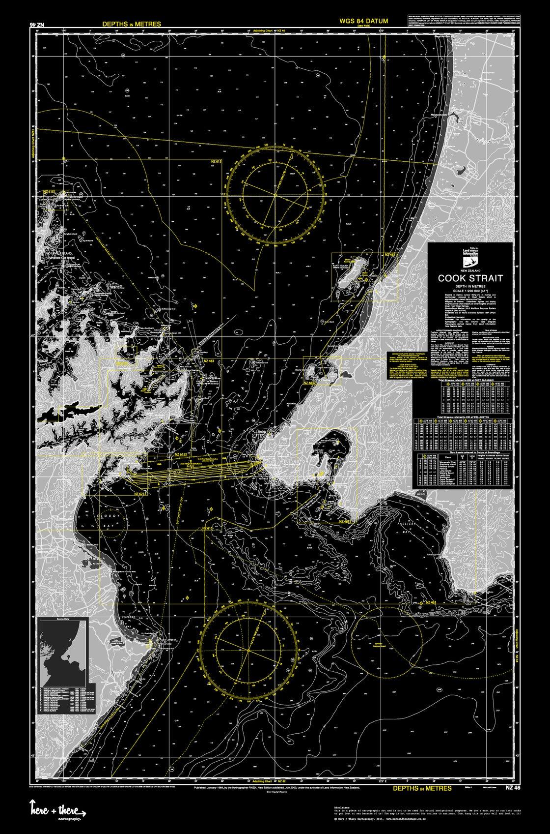Image of Cook Strait - Black Mamba