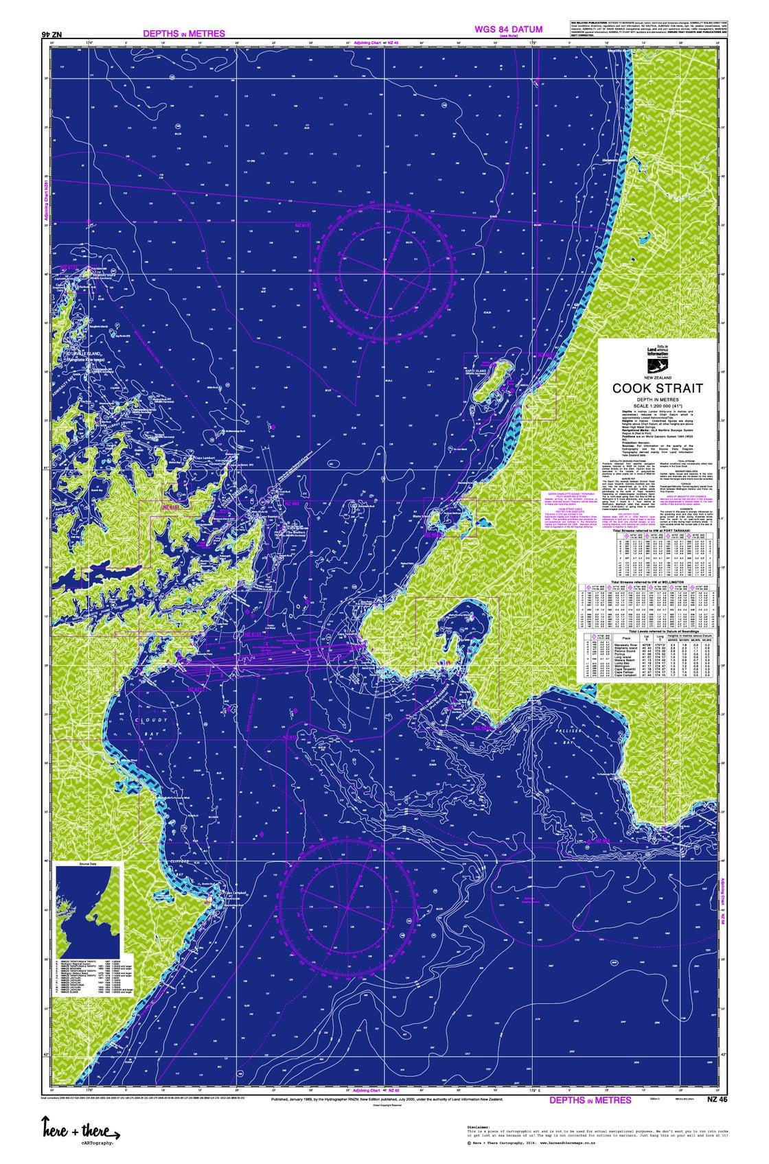 Image of Cook Strait - Blue Bombshell