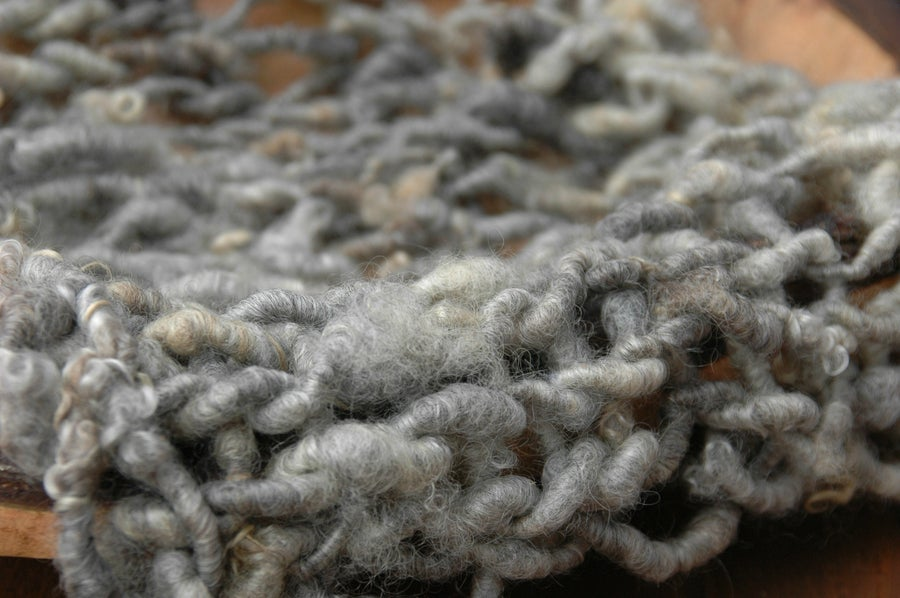 Image of Shades of Grey Knit Blanket