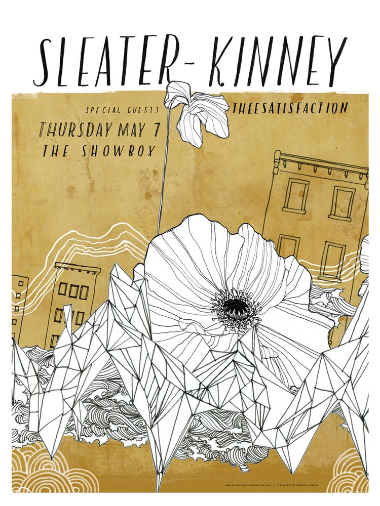 Image of Sleater-Kinney / May 7, 2015 / Seattle