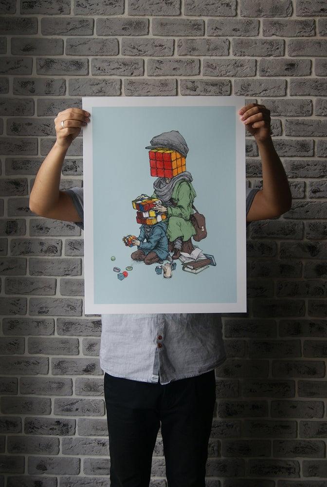"Image of Rustam QBic ""Mind Games"" (Blue)"