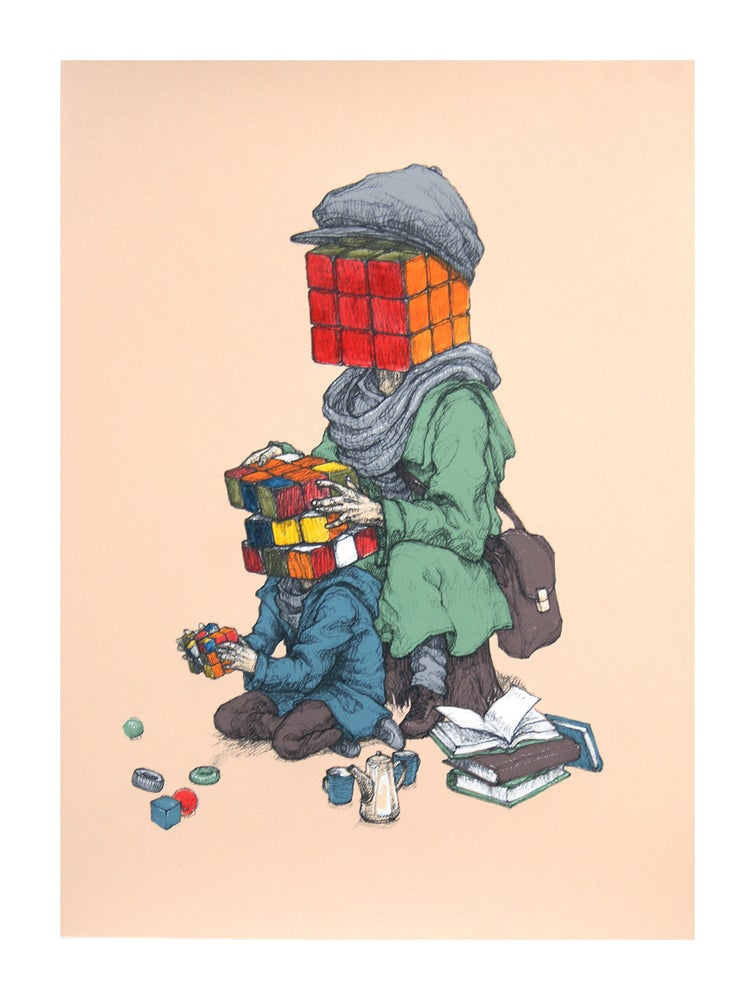 """Image of Rustam QBic """"Mind Games"""" (Beige)"""