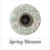 Image of *NEW* Spring Blossom Twine Spool (May 2015 Release)