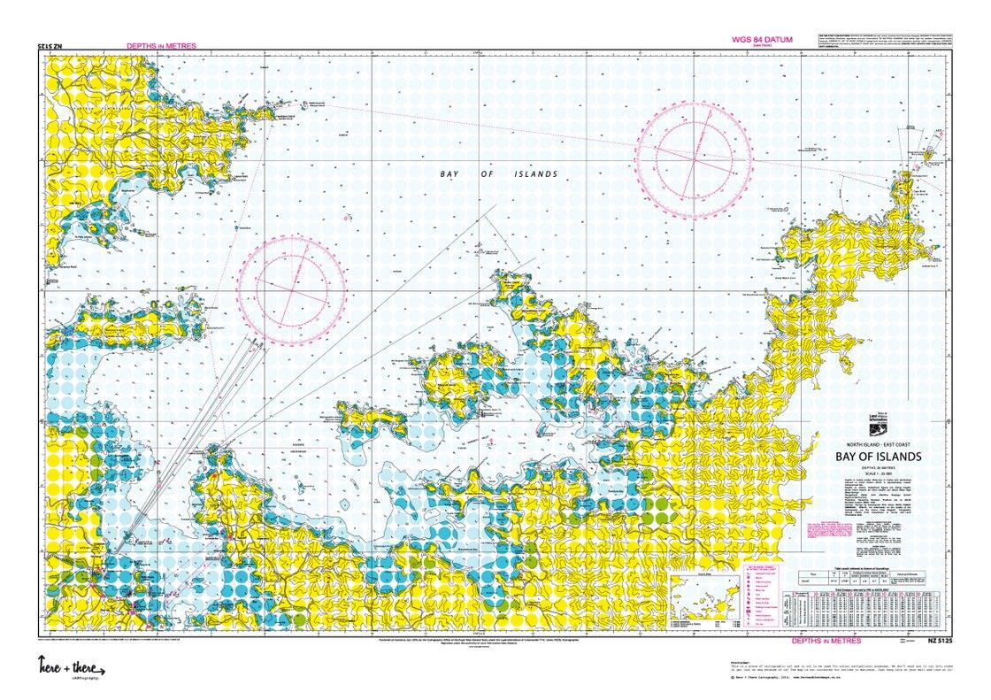 Image of Bay Of Islands - Yellow Polka