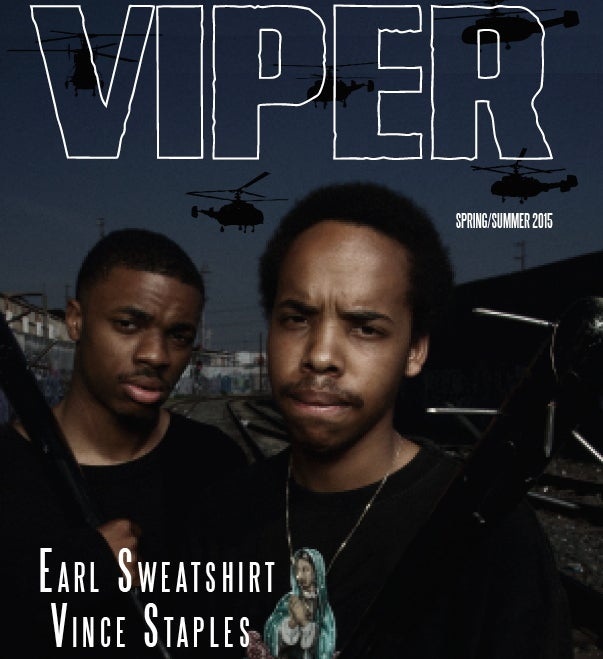 Image of VIPER MAGAZINE SPRING SUMMER 2015 ISSUE