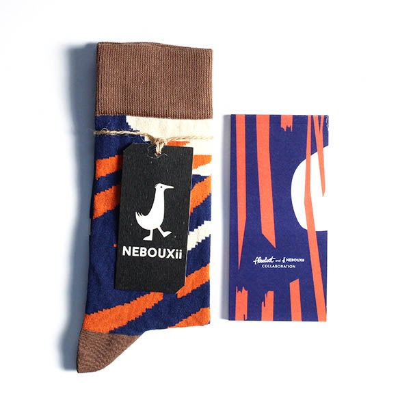 Image of Notepad & Nebouxii socks