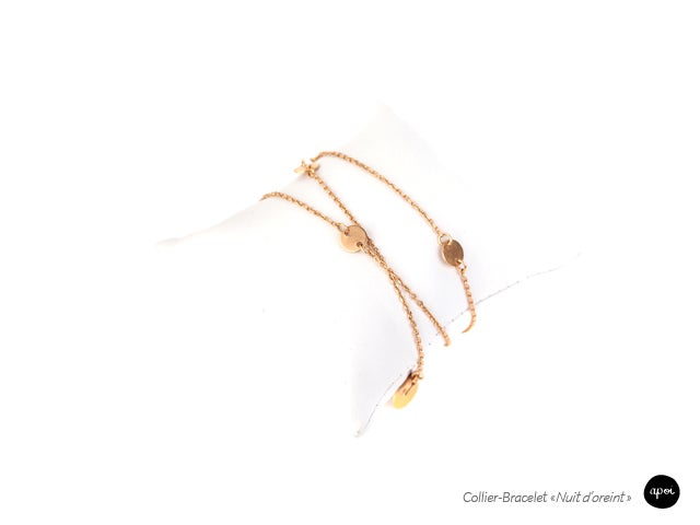Image of Nuits d'Orients - collier & bracelet