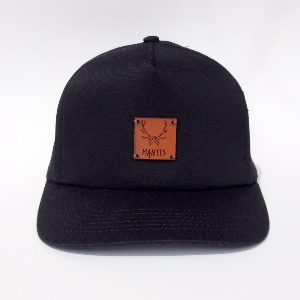 Image of Elk patch SnapBack Black