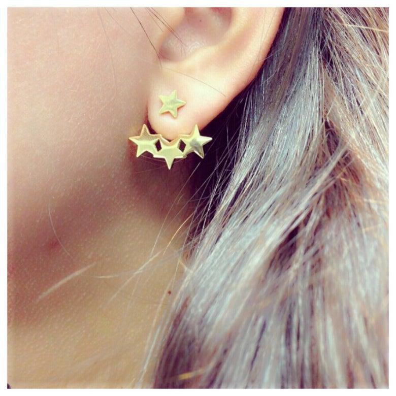 Image of Star Spread Earrings