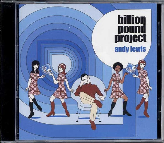 Image of Andy Lewis Billion Pound Project CD Album