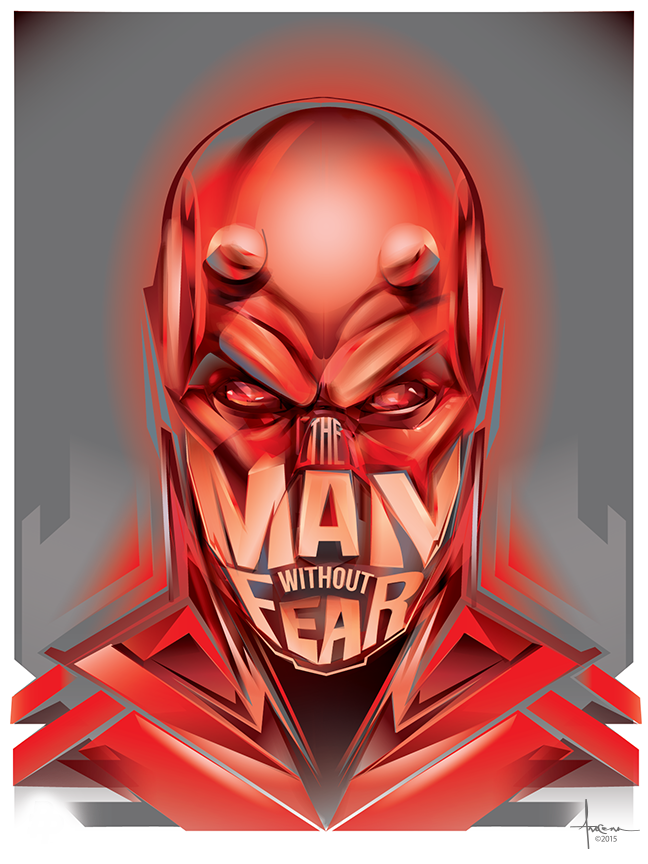 Image of MAN WITHOUT FEAR - 18x24 Edition:50