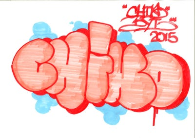 Image of CHINO BYI : CLASSIC THROWIE ( 2 OF 3 )