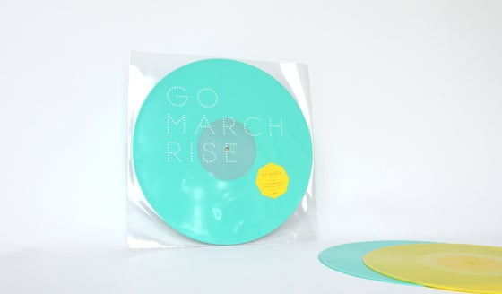 "Image of Go March - Rise EP1 (limited 12"")"