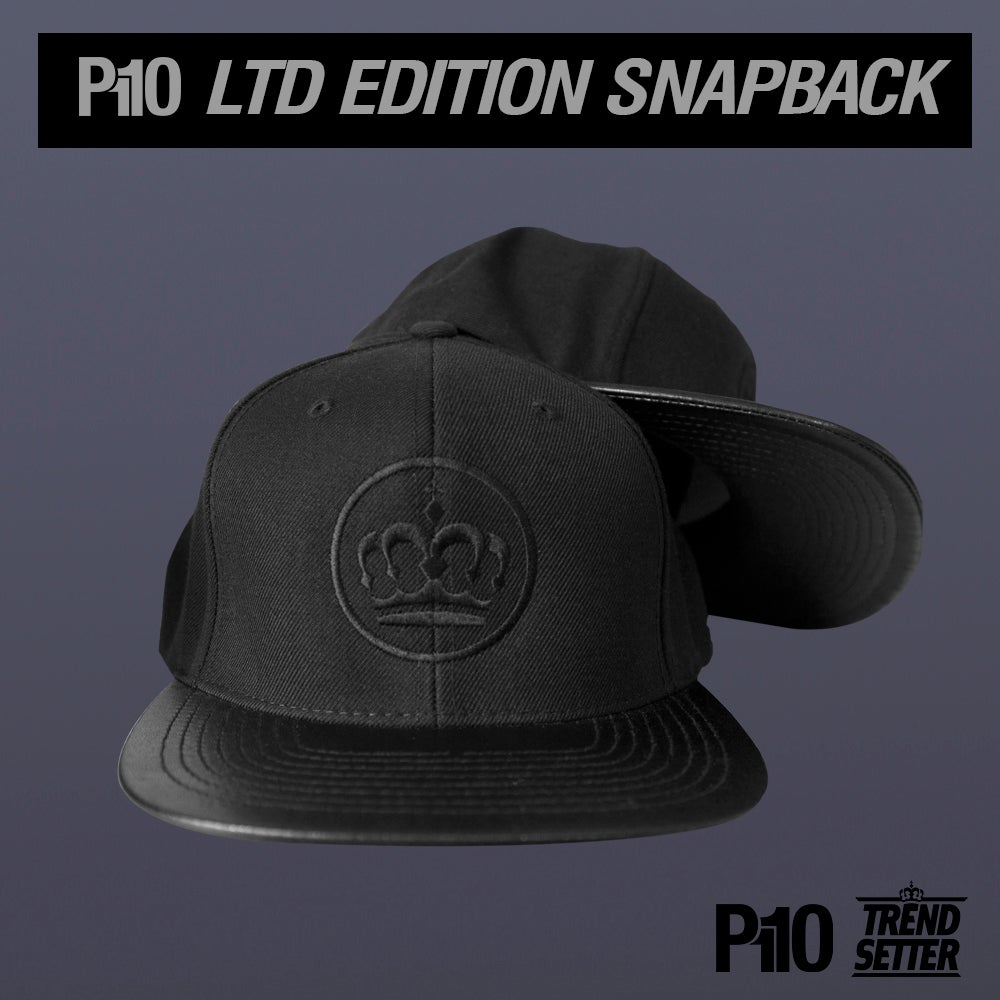 Image of Limited Edition All Black TrendSetter Snapback