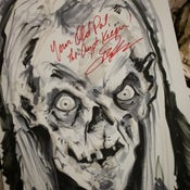Image of Crypt Keeper - Signed by John Kassir