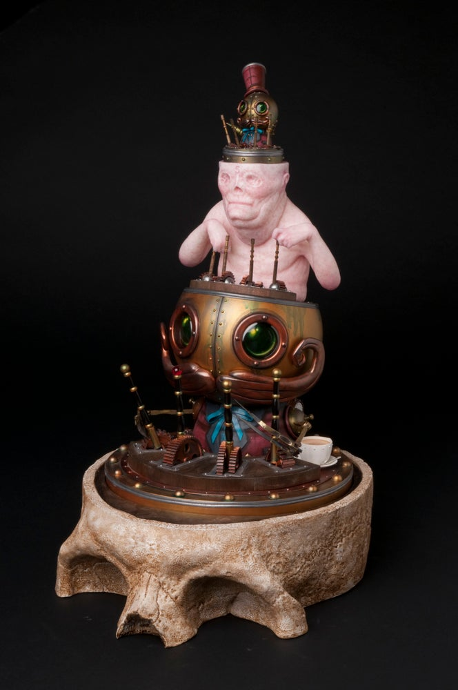 Image of Oddfellows -Original Mechtorian sculpture (Collaboration with Chet Zar)