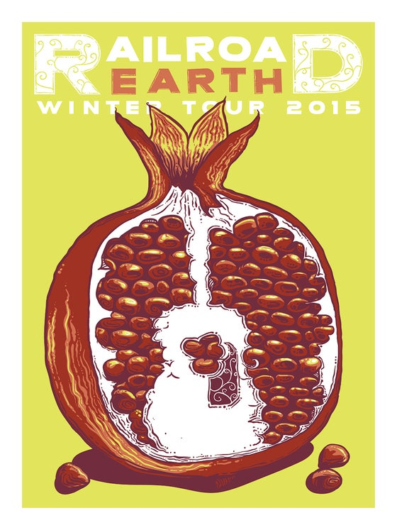 Image of Railroad Earth Winter Tour 2015 - Pomegranate