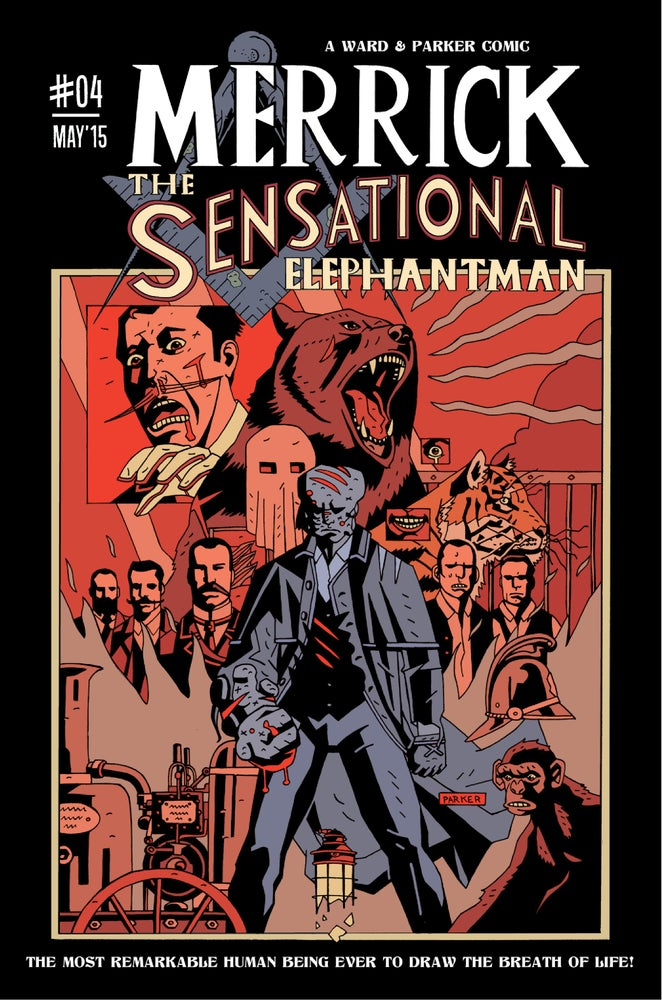Image of Merrick: The Sensational Elephantman #04 (PHYSICAL)
