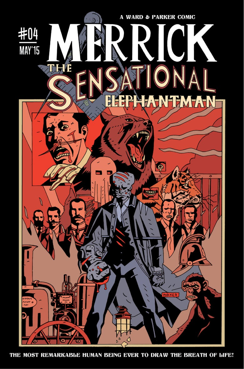 Image of Merrick: The Sensational Elephantman #04 (PHYSICAL)