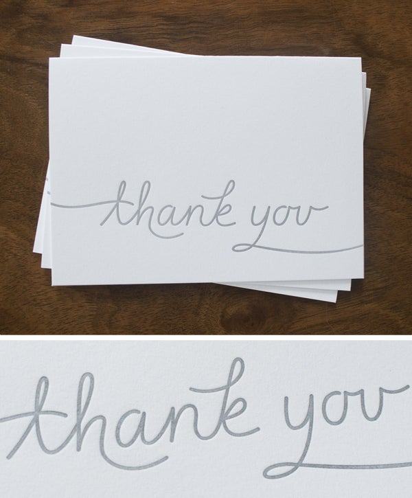 Image of Thank You Card (Set of 3)