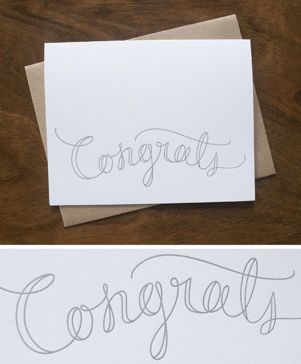 Image of Congrats Card